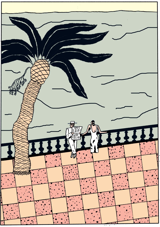 Tanya Teibtner Illustration, movie title and poster design by Tanya Teibtner
